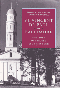 St Vincent de Paul of Baltimore Book